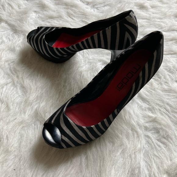 Zebra Print Heels!!!